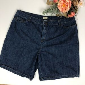 "L.L. Bean 9"" Inseam Jean Shorts"